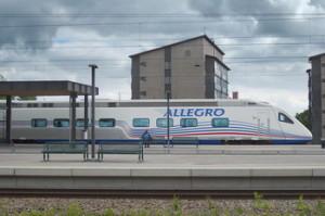 Поезд Allegro, фото Yaamboo