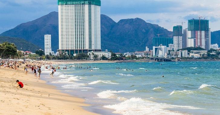 Нячанг в ноябре, пляж