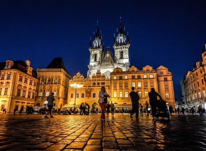 Тынская церковь на Староместской площади в Праге