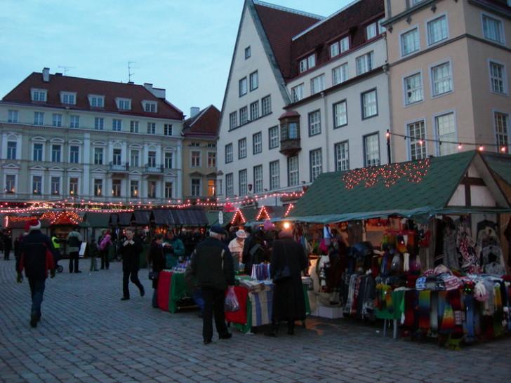 Ратушная площадь Таллина, Рождество