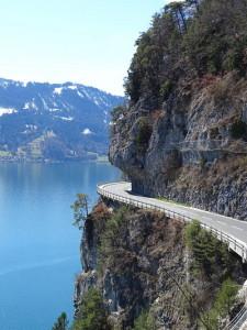 Альпийская дорога, Швейцария