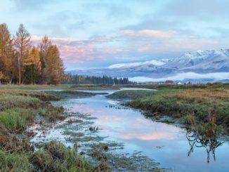 Алтайские горы в России - достопримечательности
