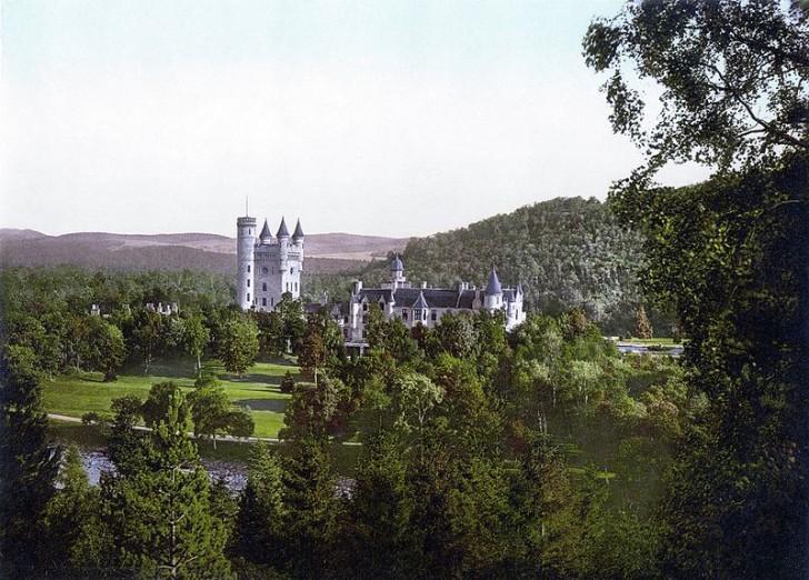 Замок Балморал в 1900 году