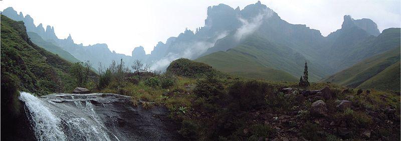 Драконовы горы, ЮАР