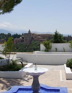 Вид на горы из Гранады