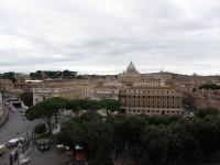 Рим, вид на собор Святого Петра
