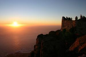 Восход со Столовой горы