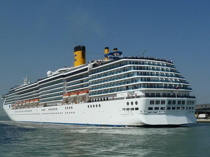 Круизный лайнер, Средиземное море