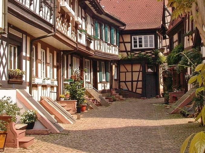 Фахверк в Генгенбахе, Германия