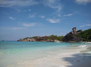 Скала Дональда Дака и пляж