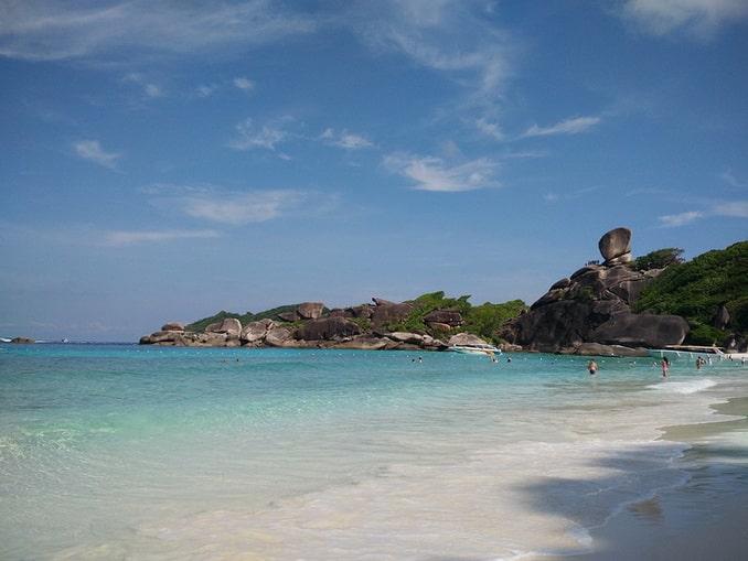 Пляж, Симиланские острова