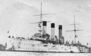 Крейсер в 1903 году