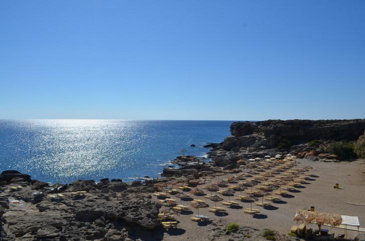 Пляж Калитея на Родосе, Греция