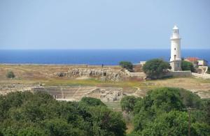 Театр Одеон и маяк