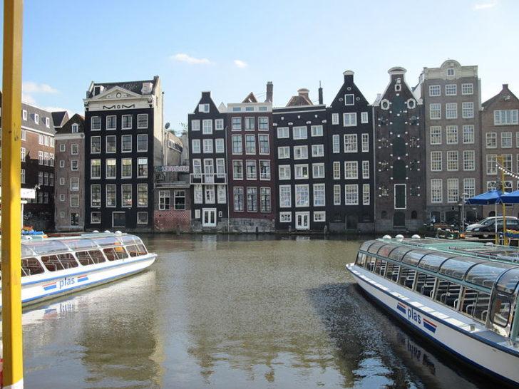 Пляшущие дома, Амстердам