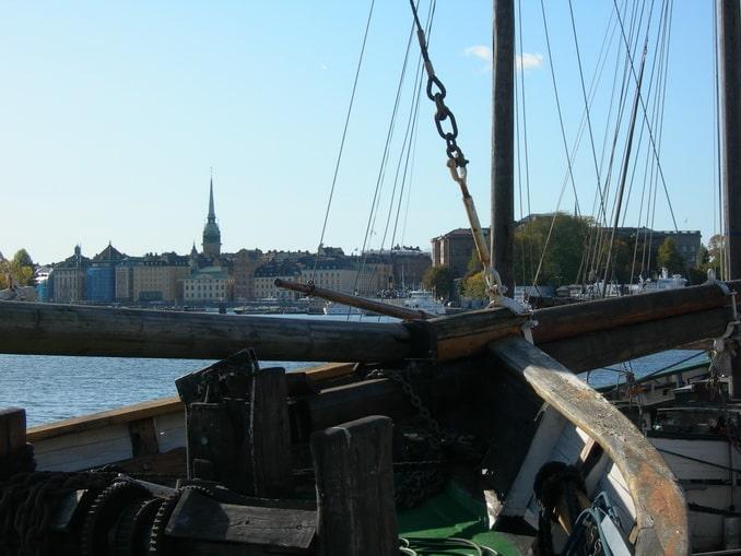 Старый город Стокгольма нужно обязательно посмотреть