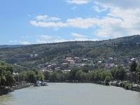 Тбилиси и река Кура