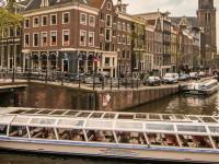 Амстердам - вид на канал Принсенграхт