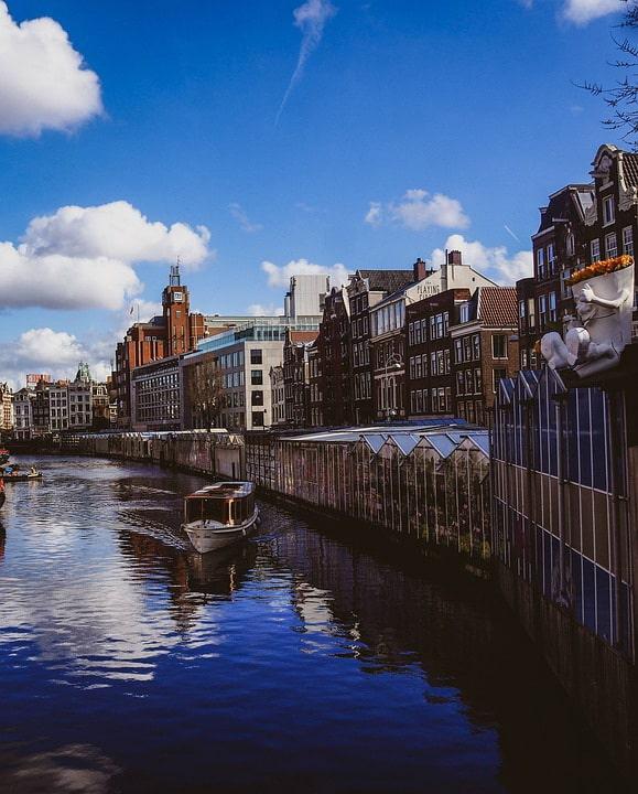 Цветочный рынок в Амстердам