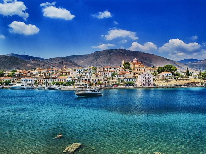 Греция, ландшафт