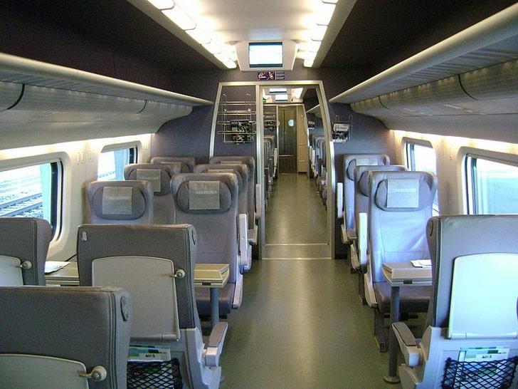 Аллегро: вагон 1 класса