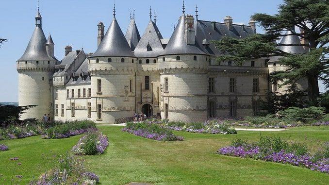 Замок Шомон-сюр-Луар, Франция