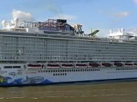 Корабль отправляется в круиз по фьордам