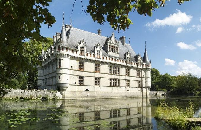 Замок Азе-ле-Ридо. Франция