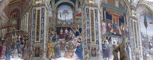 Фрески Пинтуриккьо в библиотеке Пикколомини