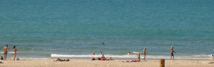 Черное-пречерное море