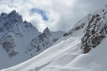 Альпы, снег