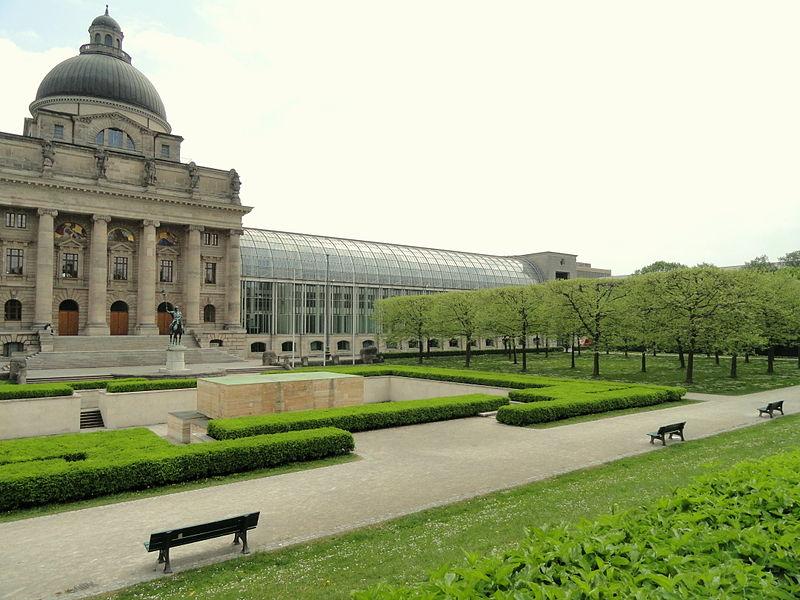 Хофгартен в Мюнхене