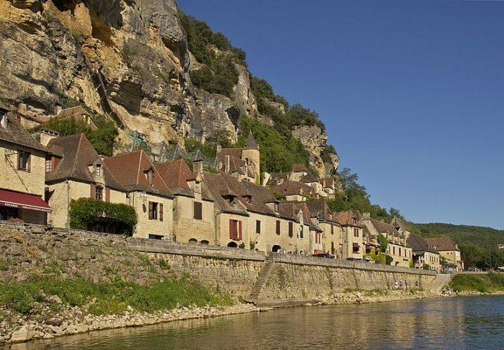 La Roque-Gageac, фото Jebulon