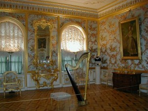 Музыкальная комната в Петергофе