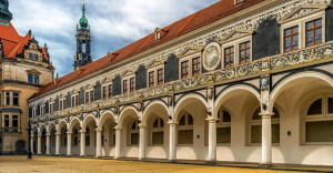 Штальхоф Королевского дворца в Дрездене
