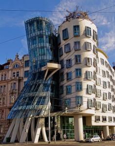 """""""Танцующий дом"""", Прага, Чехия"""