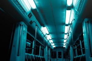 Вагон метро в Москве