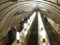 Метро в Москве - эскалатор