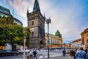 Пороховая башня со стороны Новой Праги