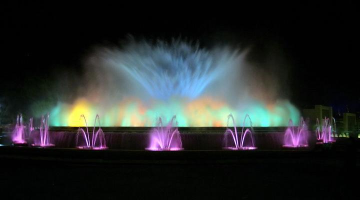 Магический фонтан, Барселона