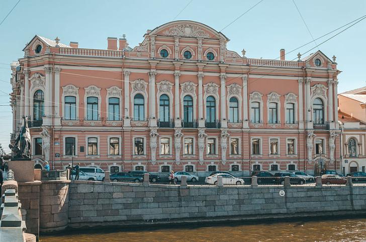 Дворец Белосельских-Белозерских, СПб, фото Skif-Kerch