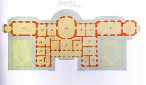 План Китайского дворца