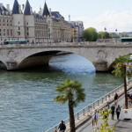 Пешеходный берег Сены, Париж