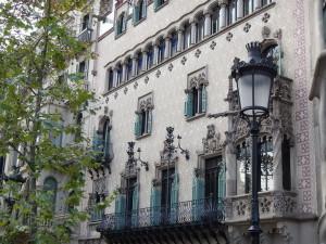 Дом Амалье в Барселоне