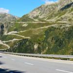 Швейцария - дорога