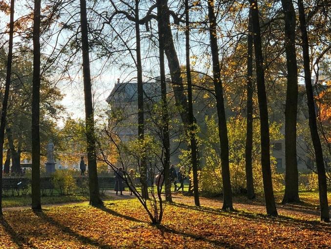 Осенний Павловск, Россия