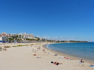 Пляж в Таррагоне, Испания