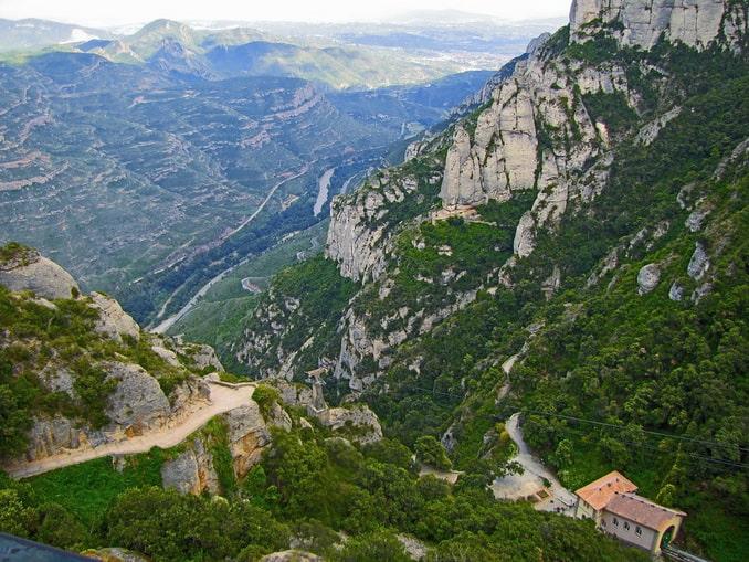 Горы Монсеррат, Испания