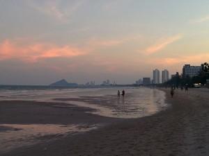 Пляж курорта Хуан-Хин