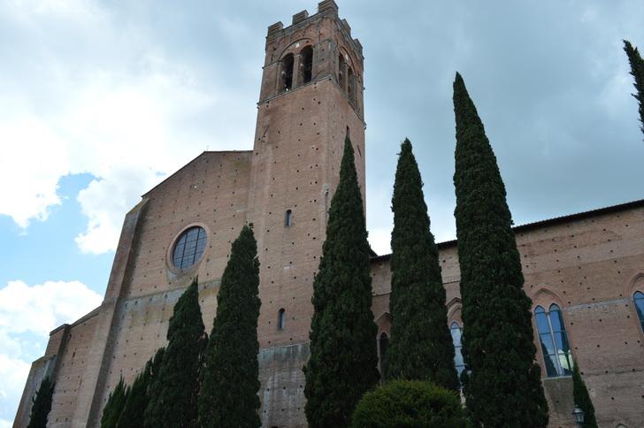 Сан-Доменико, Сиена